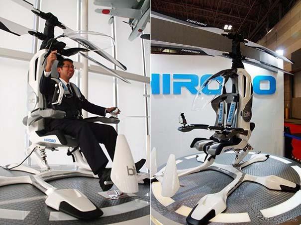 Φουτουριστικό μονοθέσιο ελικόπτερο (1)