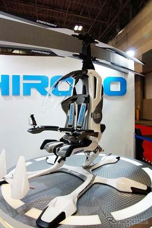 Φουτουριστικό μονοθέσιο ελικόπτερο (3)
