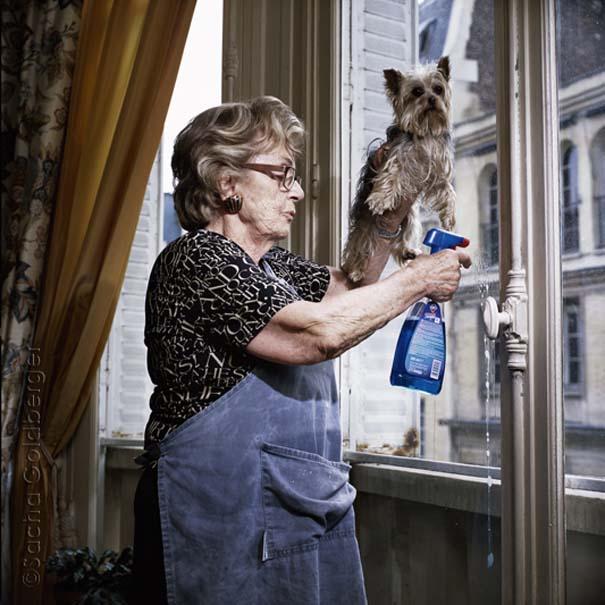 Ένας φωτογράφος με θέμα... τη γιαγιά του! (1)