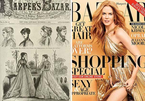 Γυναικεία περιοδικά τότε και τώρα (1)