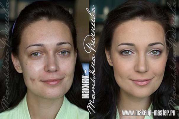 Γυναίκες με / χωρίς μακιγιάζ (14)