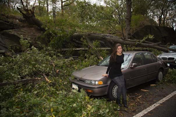 Μοντέλο χρησιμοποίησε τις καταστροφές του τυφώνα Sandy ως φόντο για φωτογράφιση... (3)