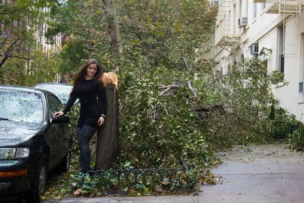 Μοντέλο χρησιμοποίησε τις καταστροφές του τυφώνα Sandy ως φόντο για φωτογράφιση... (5)