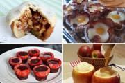 Λιχουδιές που χρησιμοποιούν άλλα τρόφιμα ως πιάτο