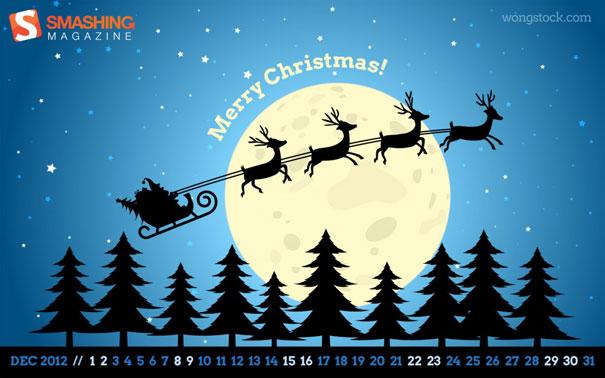 Wallpapers ημερολόγια Δεκεμβρίου 2012 (1)