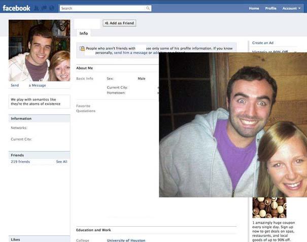 Μεταμφιέζεται σε χρήστες του Facebook και τους στέλνει αίτημα φιλίας (1)