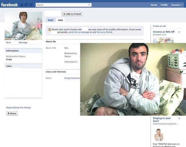 Μεταμφιέζεται σε χρήστες του Facebook και τους στέλνει αίτημα φιλίας (4)