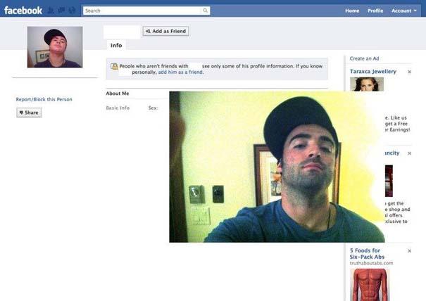 Μεταμφιέζεται σε χρήστες του Facebook και τους στέλνει αίτημα φιλίας (7)