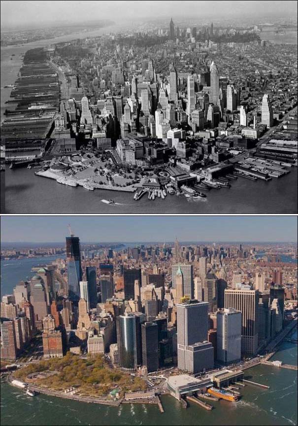 Νέα Υόρκη: Τότε και τώρα