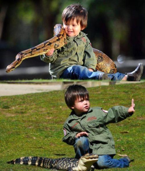 Παιδιά και άγρια ζώα (7)