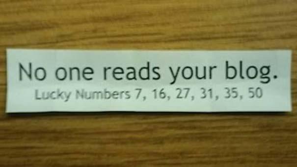 Παράξενα μηνύματα σε Fortune Cookies (10)