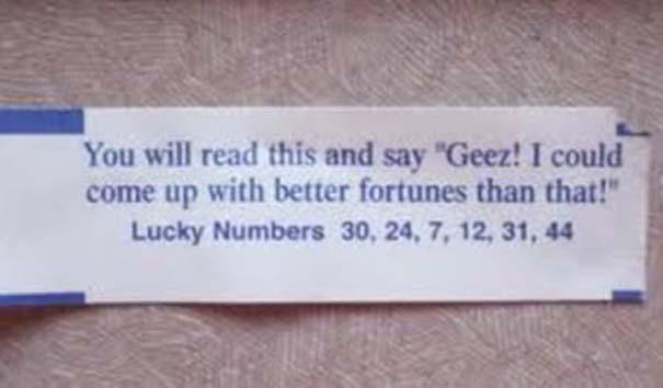 Παράξενα μηνύματα σε Fortune Cookies (12)