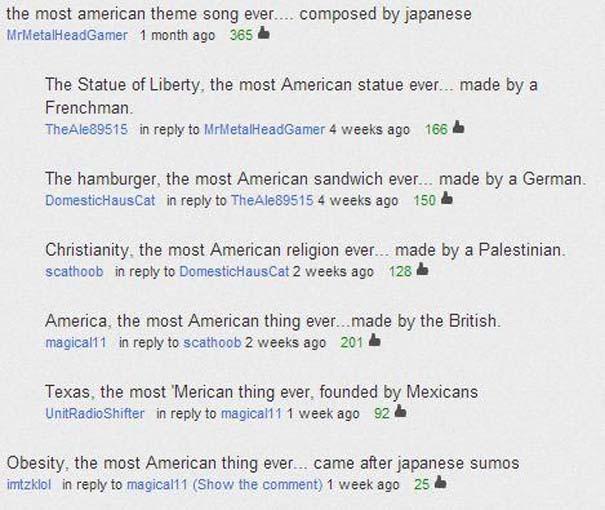 Παράξενα & ξεκαρδιστικά σχόλια στο YouTube (10)