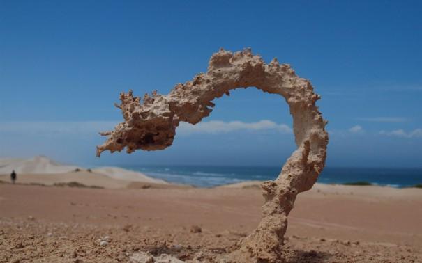 Όταν η άμμος χτυπηθεί από κεραυνό | Φωτογραφία της ημέρας