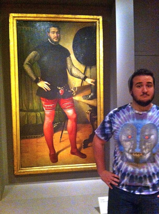 Φοιτητής βρήκε τον σωσία του σε πίνακα του 16ου αιώνα | Φωτογραφία της ημέρας