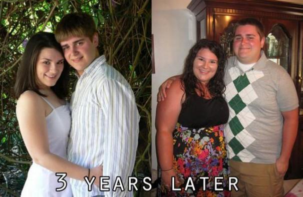 Η απίστευτη αλλαγή ενός ζευγαριού μέσα σε 3 χρόνια | Φωτογραφία της ημέρας