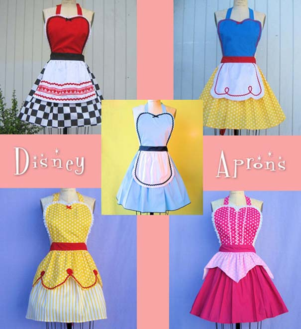 Ποδιές κουζίνας εμπνευσμένες από τις πριγκίπισσες της Disney (1)