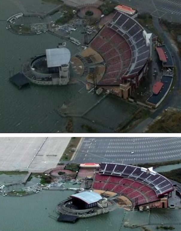 Πριν και μετά τον τυφώνα Sandy (2)