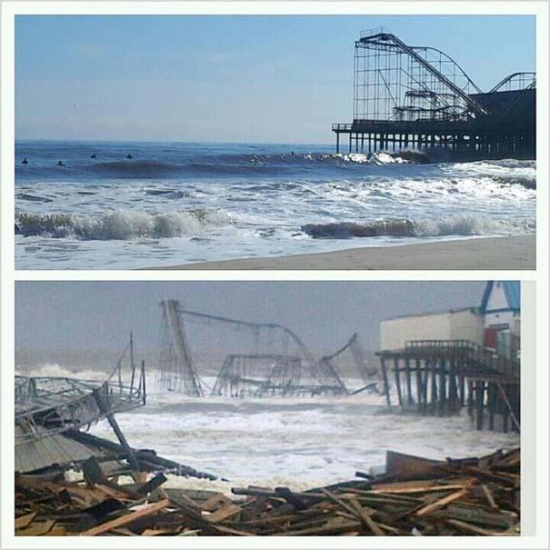 Πριν και μετά τον τυφώνα Sandy (4)