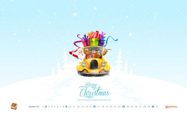 Wallpapers ημερολόγια Δεκεμβρίου 2012 (3)