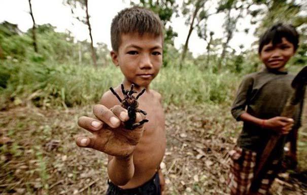Σοκαριστικό σνακ για τα παιδιά της Καμπότζης (13)