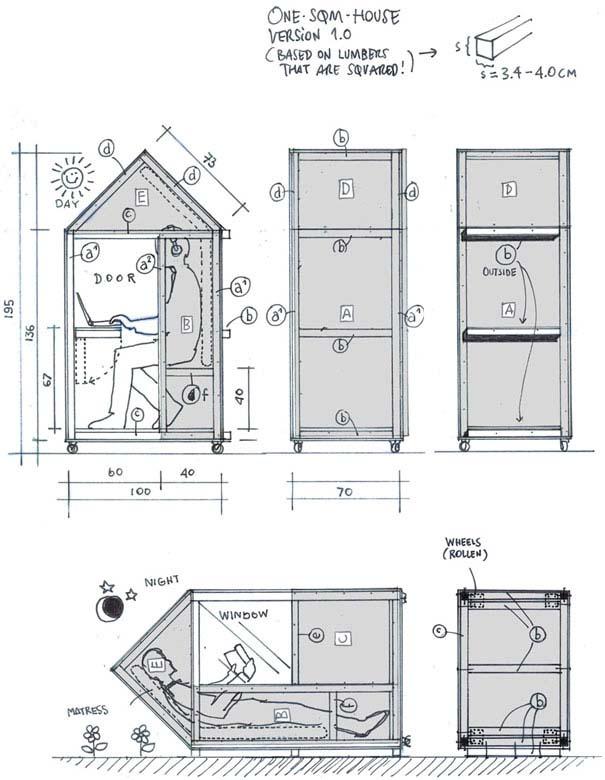 Το σπίτι του... ενός τετραγωνικού (12)
