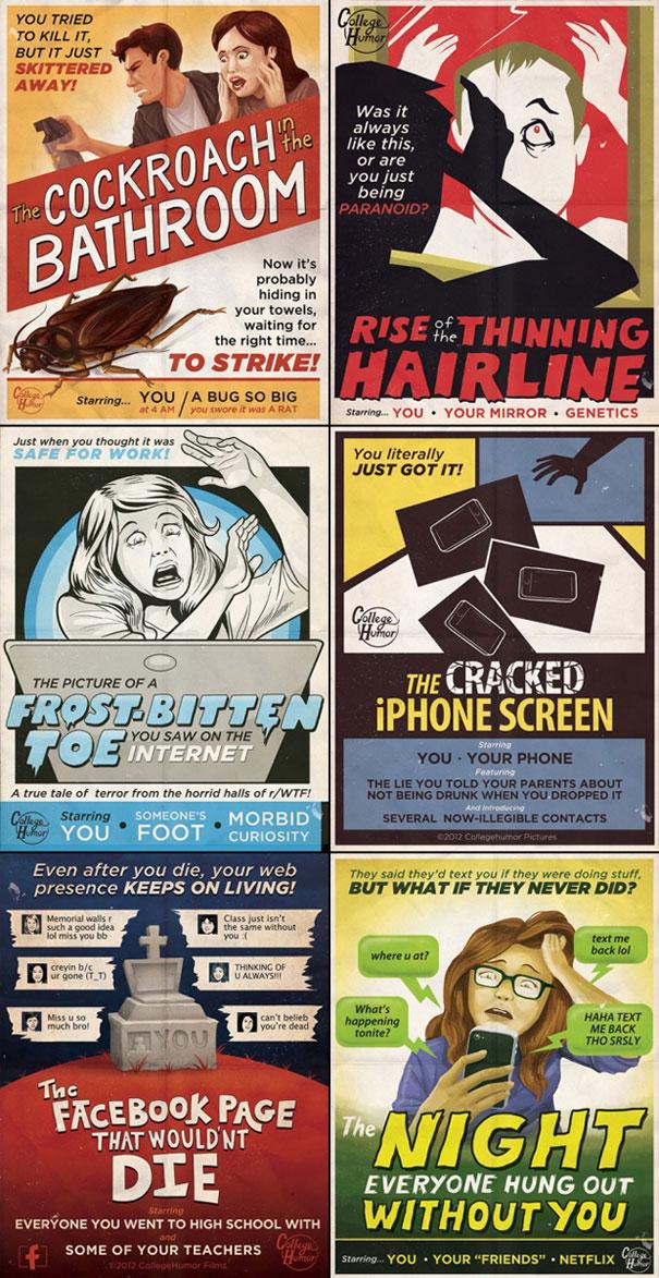 Ταινίες τρόμου... της καθημερινότητας μας (1)
