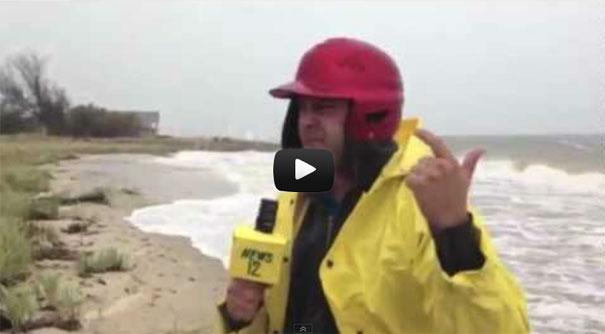 Οι... τρελάρες του τυφώνα Sandy