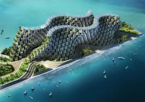 Εντυπωσιακά παραδείγματα Βιοκλιματικής Αρχιτεκτονικής του μέλλοντος (1)