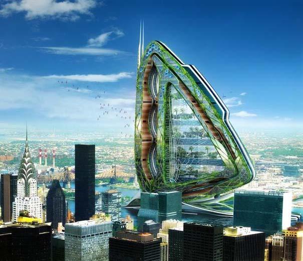 Εντυπωσιακά παραδείγματα Βιοκλιματικής Αρχιτεκτονικής του μέλλοντος (2)