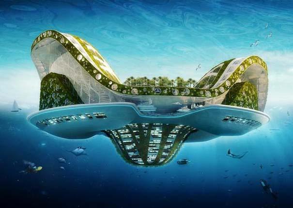 Εντυπωσιακά παραδείγματα Βιοκλιματικής Αρχιτεκτονικής του μέλλοντος (4)