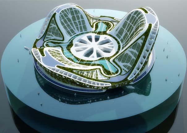 Εντυπωσιακά παραδείγματα Βιοκλιματικής Αρχιτεκτονικής του μέλλοντος (5)