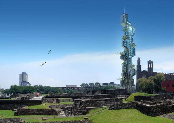 Εντυπωσιακά παραδείγματα Βιοκλιματικής Αρχιτεκτονικής του μέλλοντος (6)