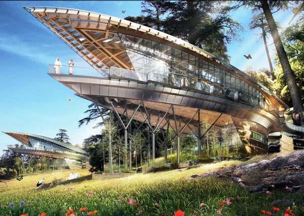 Εντυπωσιακά παραδείγματα Βιοκλιματικής Αρχιτεκτονικής του μέλλοντος (7)