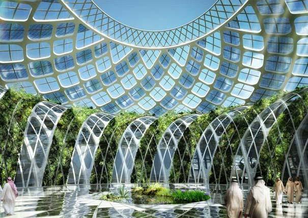 Εντυπωσιακά παραδείγματα Βιοκλιματικής Αρχιτεκτονικής του μέλλοντος (10)
