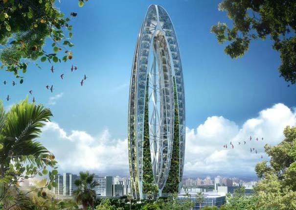 Εντυπωσιακά παραδείγματα Βιοκλιματικής Αρχιτεκτονικής του μέλλοντος (11)