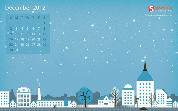 Wallpapers ημερολόγια Δεκεμβρίου 2012 (4)