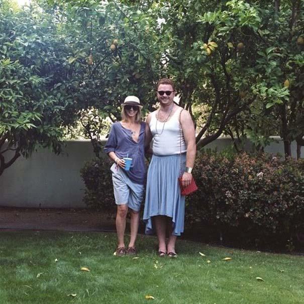 Ζευγάρια σε ανταλλαγή ρούχων (4)