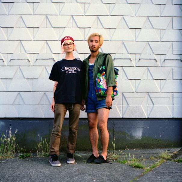 Ζευγάρια σε ανταλλαγή ρούχων (24)