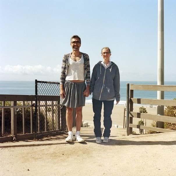 Ζευγάρια σε ανταλλαγή ρούχων (45)