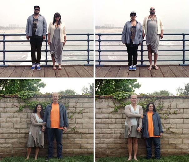 Ζευγάρια σε ανταλλαγή ρούχων