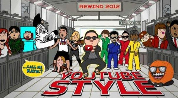 Ανασκόπηση YouTube  2012