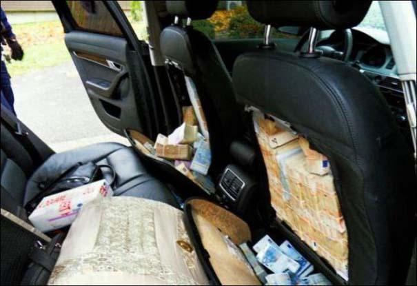 Απίστευτο εύρημα μέσα σε καθίσματα αυτοκινήτου (2)