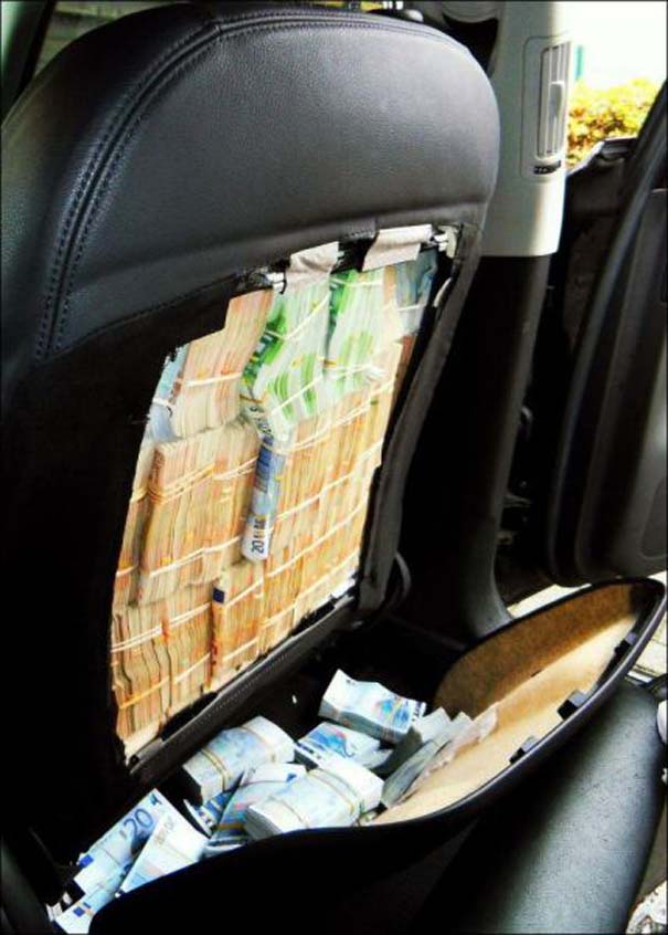 Απίστευτο εύρημα μέσα σε καθίσματα αυτοκινήτου (4)