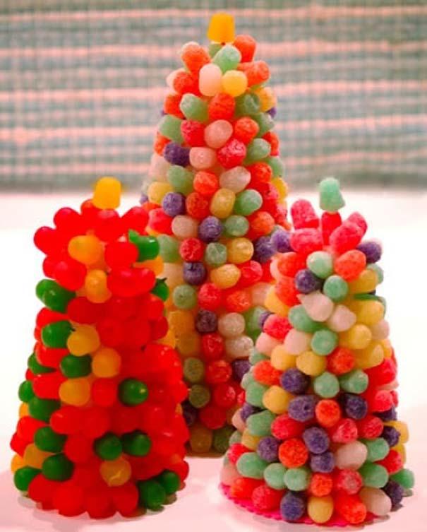 Новогодние поделки из конфет своими руками 2015 - Dorel.ru