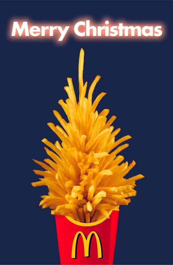Αστεία χριστουγεννιάτικα δέντρα: Η κρίση μας κάνει ευρηματικούς! (7)
