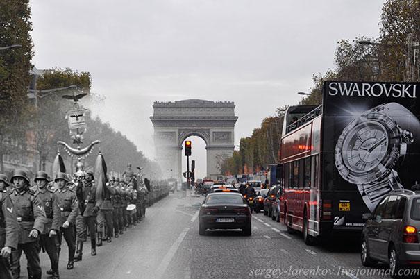 25 φωτογραφίες του Β' Παγκοσμίου Πολέμου συναντούν το σήμερα (1)