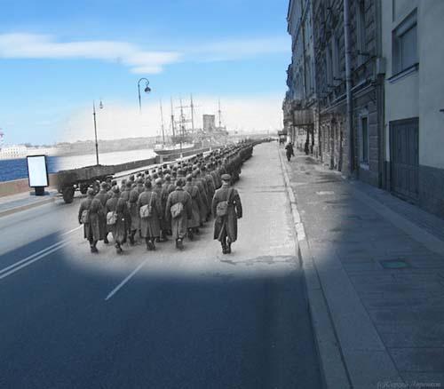 25 φωτογραφίες του Β' Παγκοσμίου Πολέμου συναντούν το σήμερα (13)