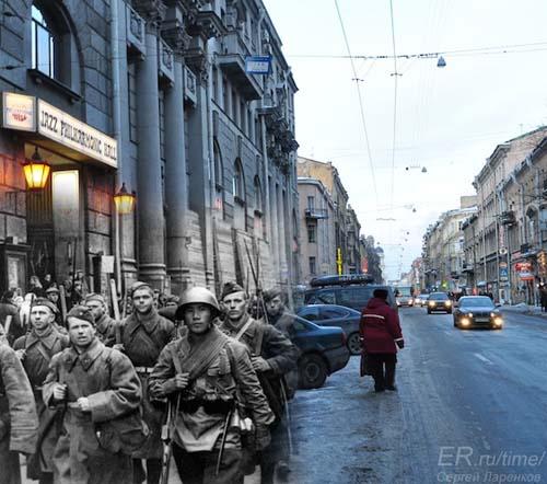 25 φωτογραφίες του Β' Παγκοσμίου Πολέμου συναντούν το σήμερα (14)