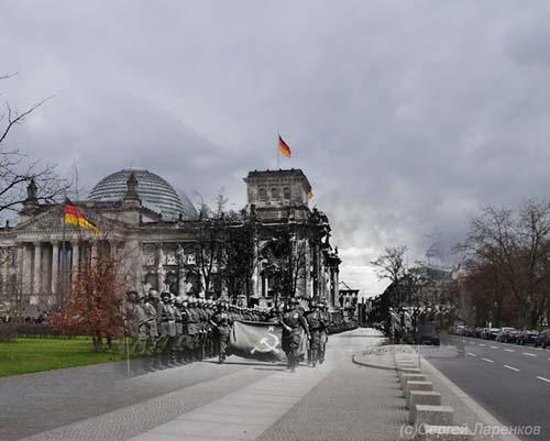 25 φωτογραφίες του Β' Παγκοσμίου Πολέμου συναντούν το σήμερα (17)